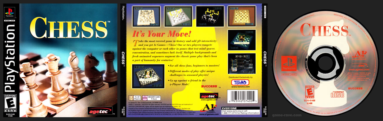 PSX PlayStation Chess