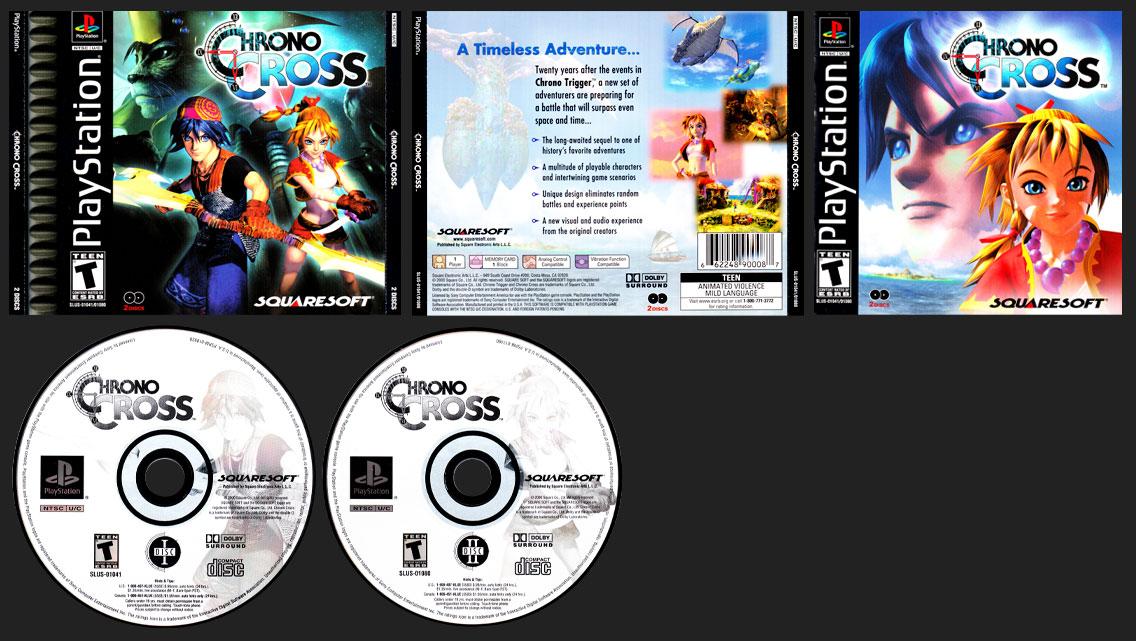 PSX PlayStation Chrono Cross