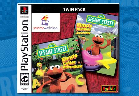 PSX PlayStation Sesame Street Workshop Twin Pack
