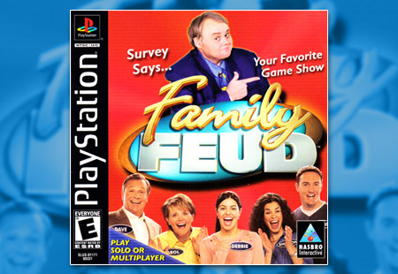 PSX PlayStation Family Feud