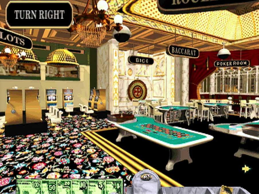 PSX PlayStation Golden Nugget Screenshot