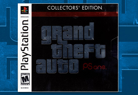PSX PlayStation Grand Theft Auto Collector's Edition