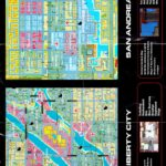 PSX PlayStation Grand Theft Auto Director's Cut Map
