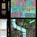 PSX PlayStation PSX PlayStation Grand Theft Auto Director's Cut Map Side 2