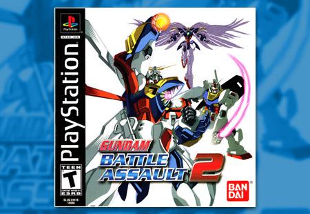 PSX PlayStation Gundam Battle Assault 2
