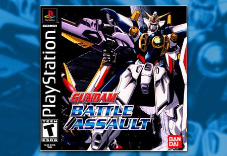 PSX PlayStation Gundam Battle Assault
