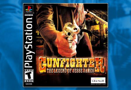 PSX PlayStation Gunfighter: The Legend of Jesse James