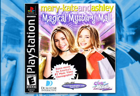 PSX PlayStation Mary-Kate and Ashley - Magical Mystery Mall