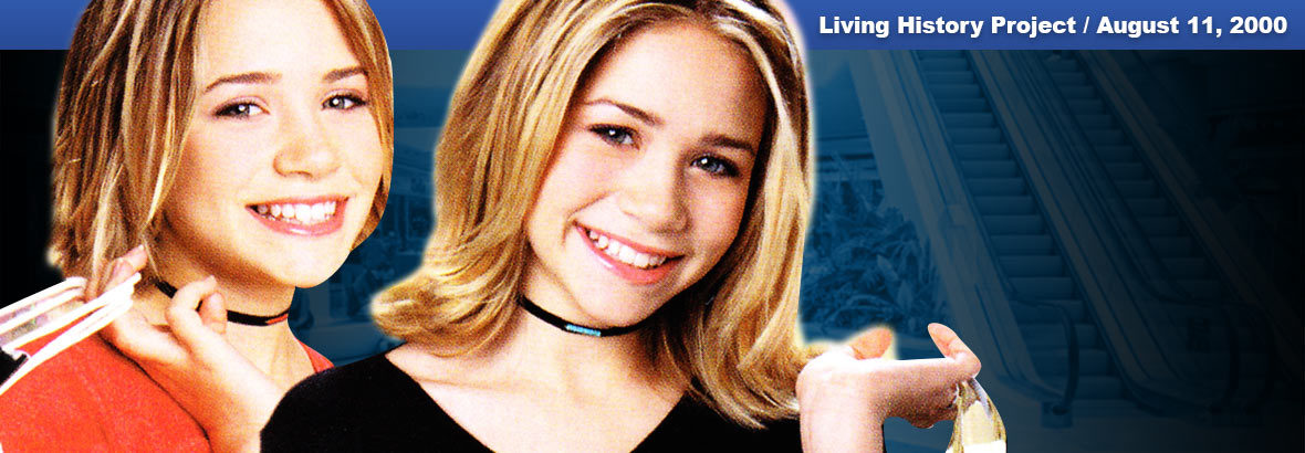 August 11, 2000 Release: Mary-Kate and Ashley – Magical Mystery Mall