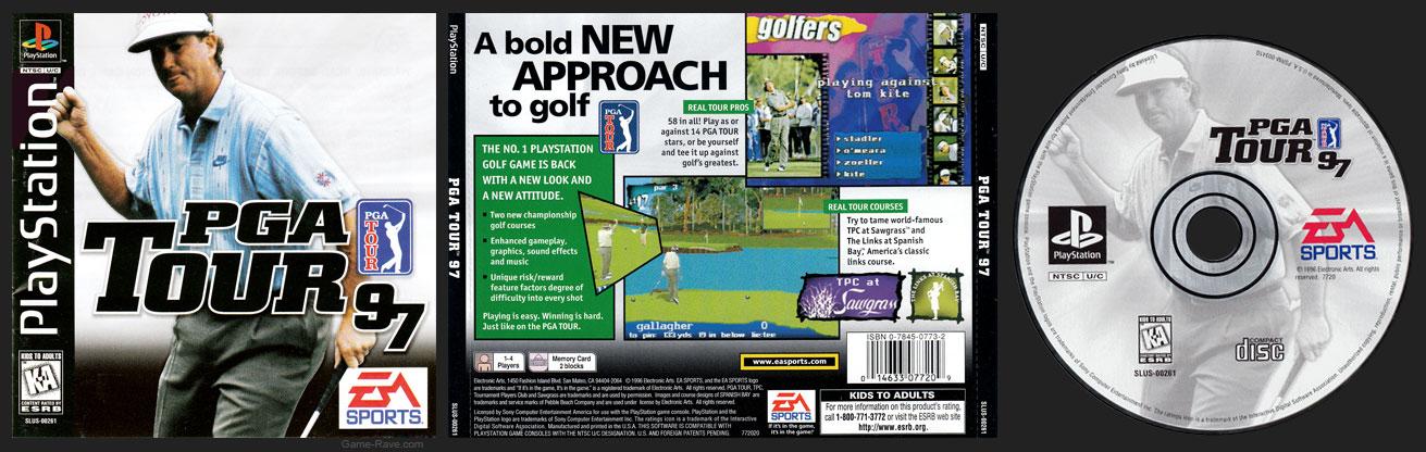 PSX PlayStation PGA Tour 97