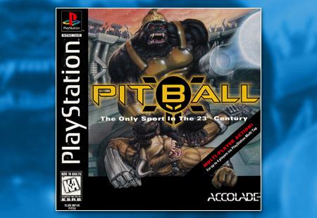 PSX PlayStation Pitball