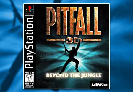 PSX PlayStation Pitfall 3D: Beyond the Jungle
