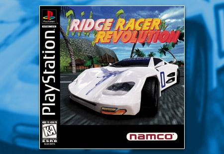 PSX PlayStation Ridge Racer Revolution