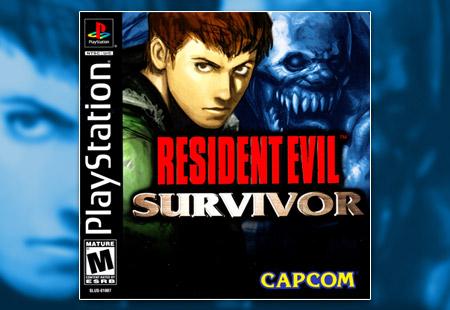 PSX PlayStation Resident Evil Survivor
