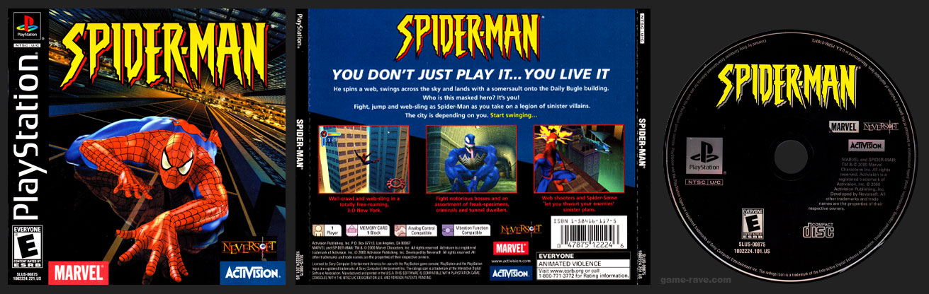PSX PlayStation Spider-Man Black Label Retail Release