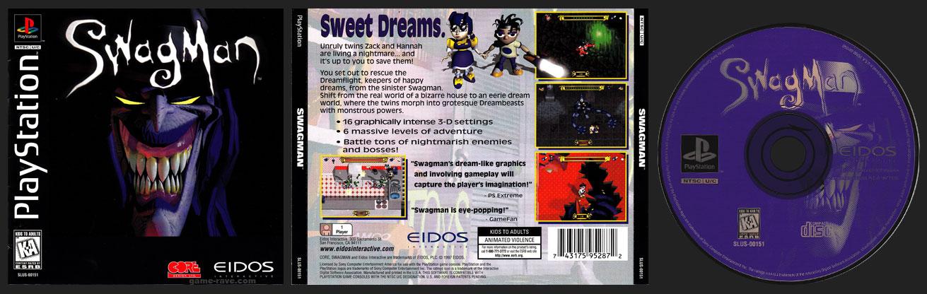PSX PlayStation Swagman