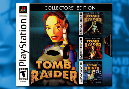 PSX PlayStation Tomb Raider Collector's Edition