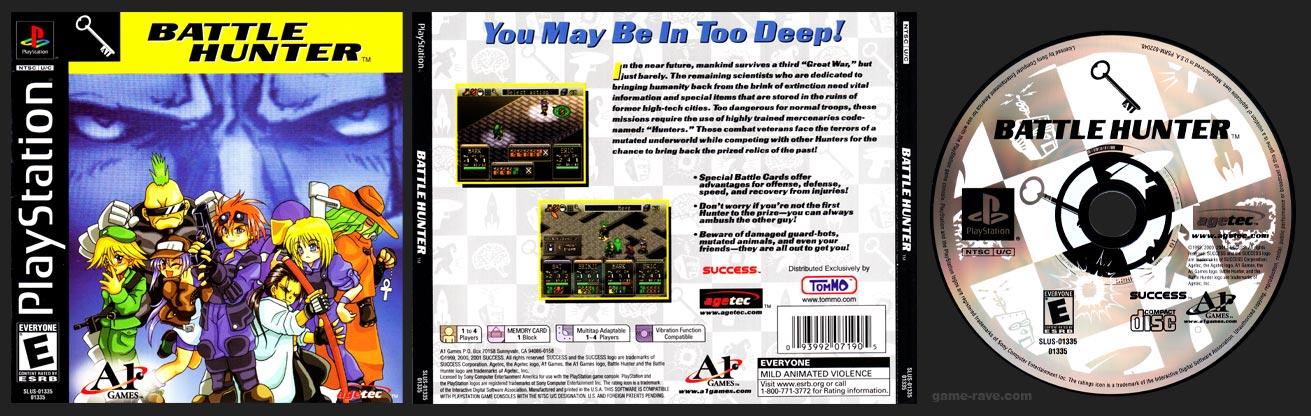 PSX PLayStation PSX Tommo Value Pack 1 Battle Hunter Tommo 3 For 1 Value Pack Release