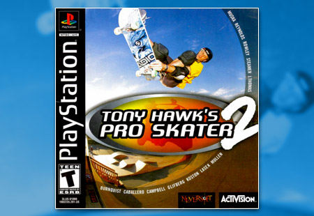 PSX PlayStation Tony Hawk's Pro Skater 2