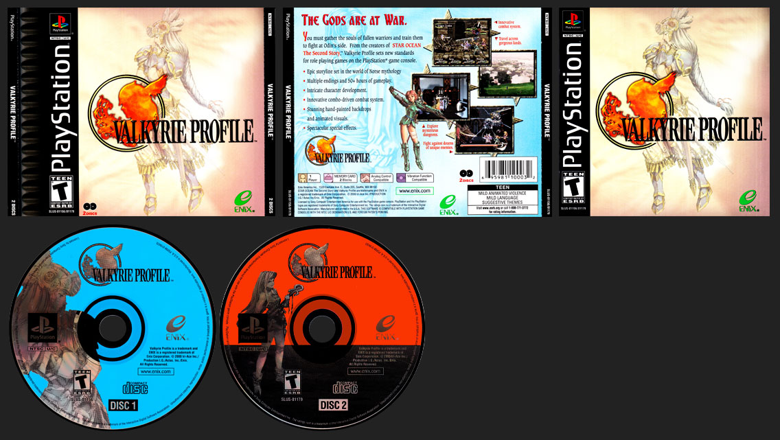 PSX PlayStation Valkyrie Profile
