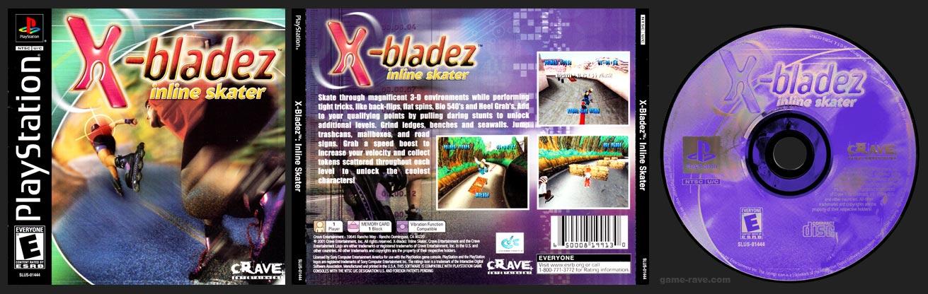 PSX PlayStation X-Bladez: Inline Skater