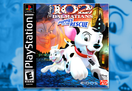 PSX PlayStation 102 Dalmatians Puppies to the Rescue
