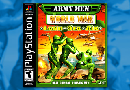 PSX PlayStation Army Men: World War – Land * Sea * Air