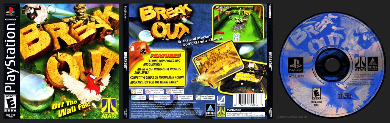 PSX PlayStation Breakout