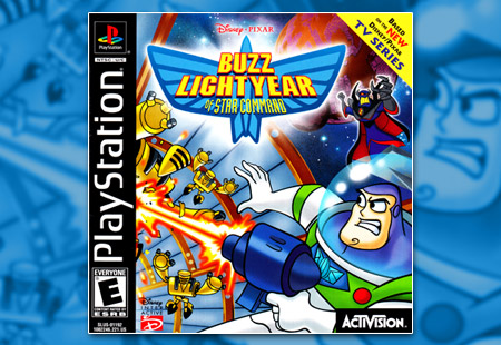 PSX PlayStation Disney / Pixar's Buzz Lightyear of Star Command