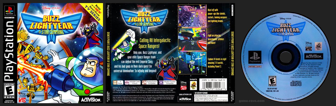 PSX PlayStation Disney / Pixar's Buzz Lightyear of Star Command