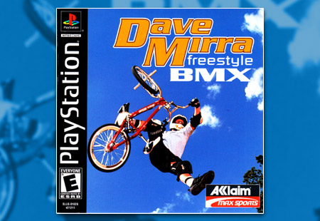 PSX PlayStation Dave Mirra Freestyle BMX