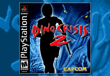 PSX PlayStation Dino Crisis 2