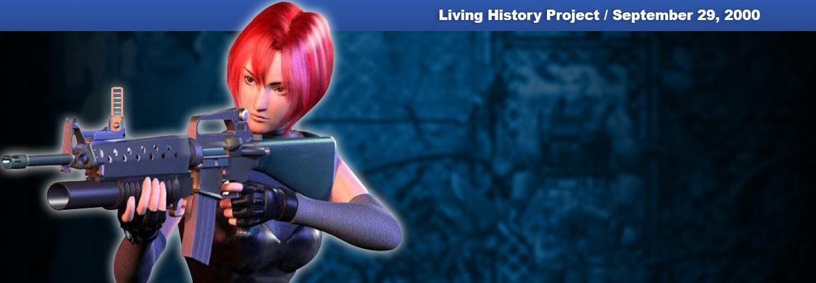 September 29, 2000 New Release: Dino Crisis 2
