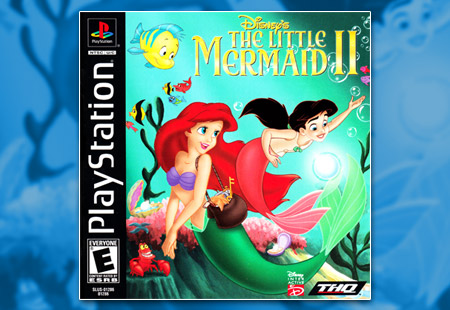 PSX PlayStation Disney's The Little Mermaid II