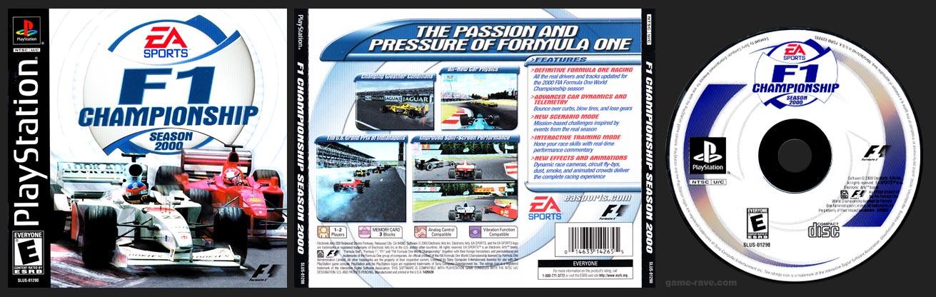 PSX PlayStation F1 Championship Season 2000