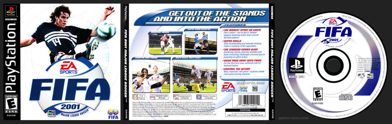 PSX PlayStation FIFA 2001