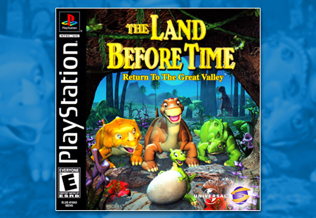 PSX PlayStation Land Before Time: Return To The Great Valley, The