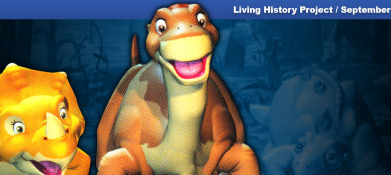 PSX PlayStation The Land Before Time: Return to the Great Valley