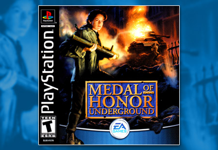 PSX PlayStation Medal of Honor Underground