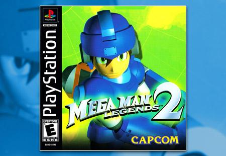 PSX PlayStation Mega Man Legends 2
