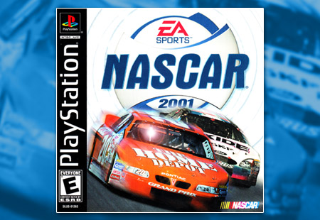 PSX PlayStation NASCAR 2001
