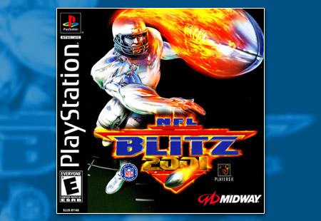 PSX PlayStation NFL Blitz 2001