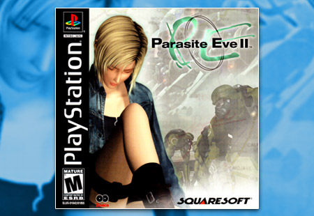 PSX PlayStation Parasite Eve II