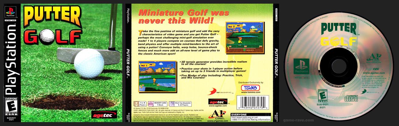 PSX PlayStation Putter Golf