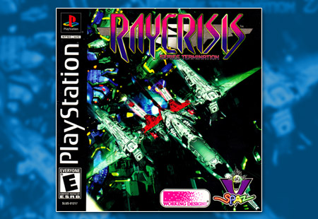 PSX PlayStation RayCrisis: Series Termination
