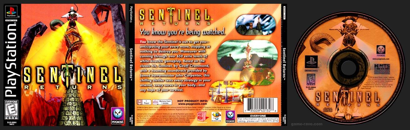 PSX PlayStation Sentinel Returns