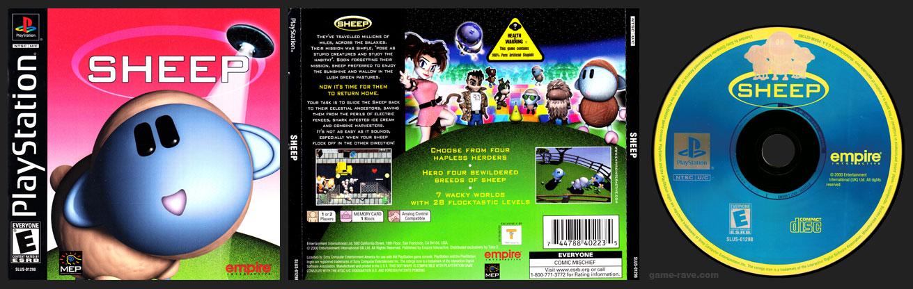 PSX PlayStation Sheep Typo Wrong Barcode