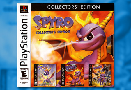 PSX PlayStation Spyro Collector's Edition