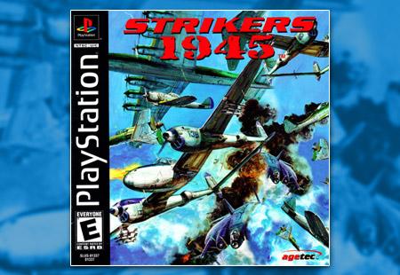PSX PlayStation Strikers 1945