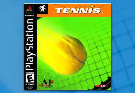 PSX PlayStation Tennis